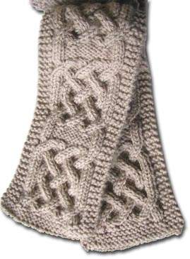 Where can I find a knitting pattern with celtic knot work? - Yahoo